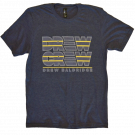 Drew Baldridge Heather Navy Drew Crew Tee