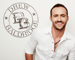 Drew Baldridge AUTOGRAPHED 8x10- White Shirt