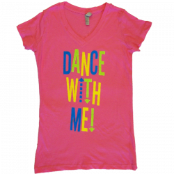 Drew Baldridge Ladies Pink V Neck Tee