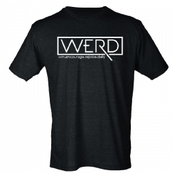 Drew Baldridge Black WERD Tee