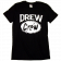 Drew Baldridge Drew Crew Black Tee