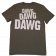 "Drew Baldridge Charcoal ""Dawg"" Tee"