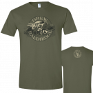 Drew Baldridge Unisex Light Olive Green Tee- Dirt On Us