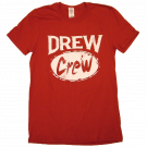 Drew Baldridge Red Drew Crew Tee