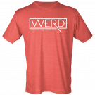 Drew Baldridge Red WERD Tee