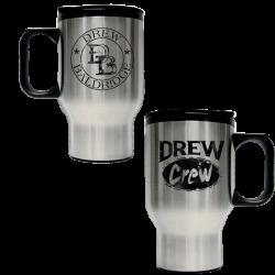 Drew Baldridge Stainless Steel Travel Mug