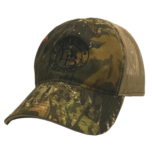 Drew Baldridge Mossy Oak Ballcap